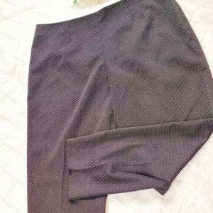 Tommy Hilfiger Black &White Pin Dotted Ankle Pants
